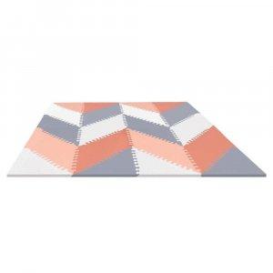Игровой коврик-пазл Playspot Geo Grey/Peach, Skip Hop
