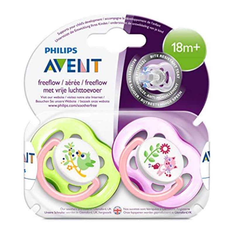 Пустышка силиконовая от 18 мес., Philips Avent