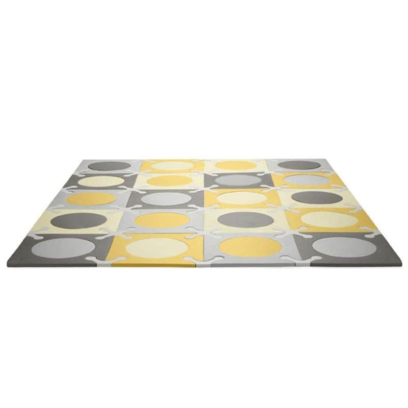 Игровой коврик-пазл Playspot Grey/Gold, Skip Hop