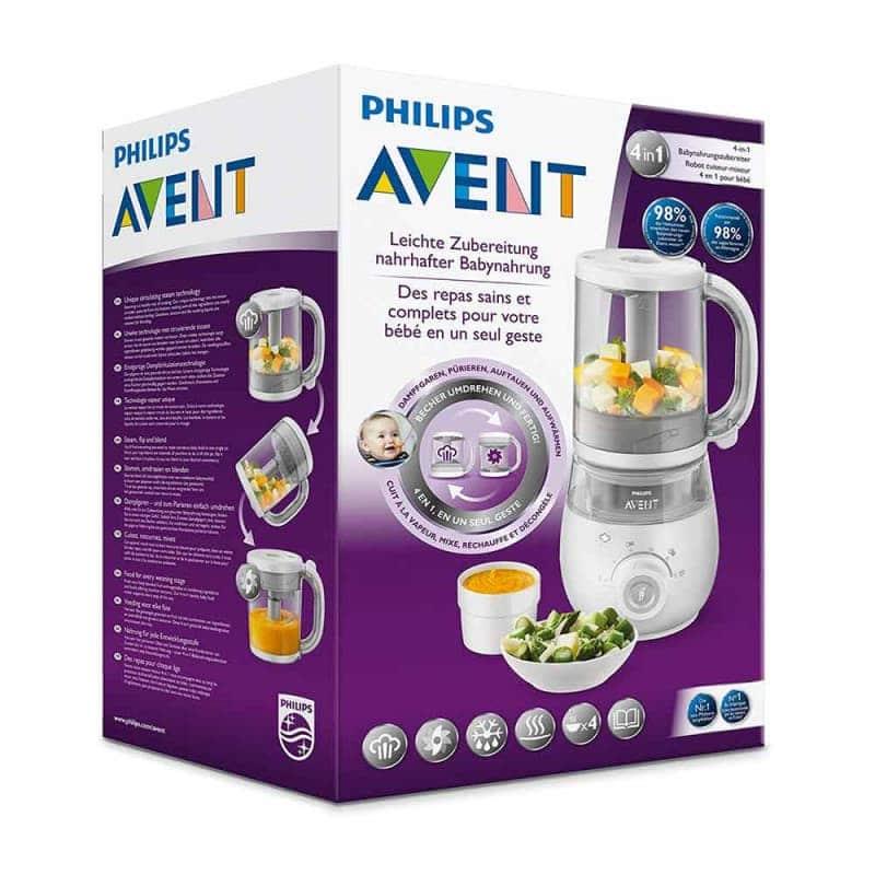 Пароварка-блендер (4 в 1), Philips AVENT