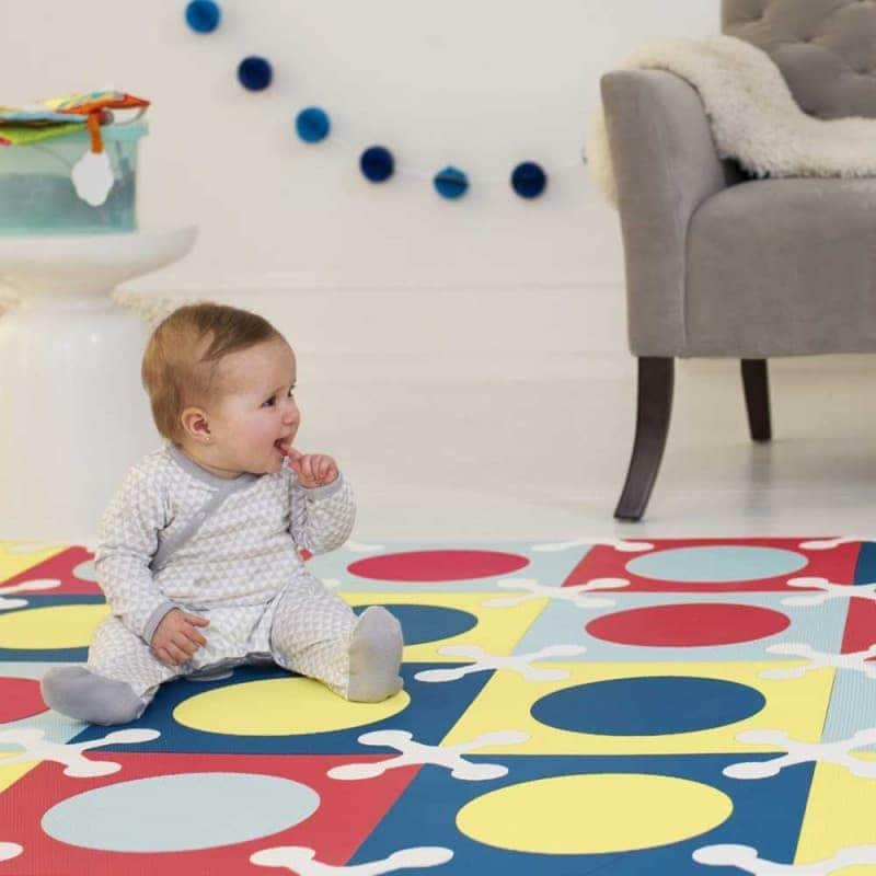 Игровой коврик-пазл Playspot Multi, Skip Hop