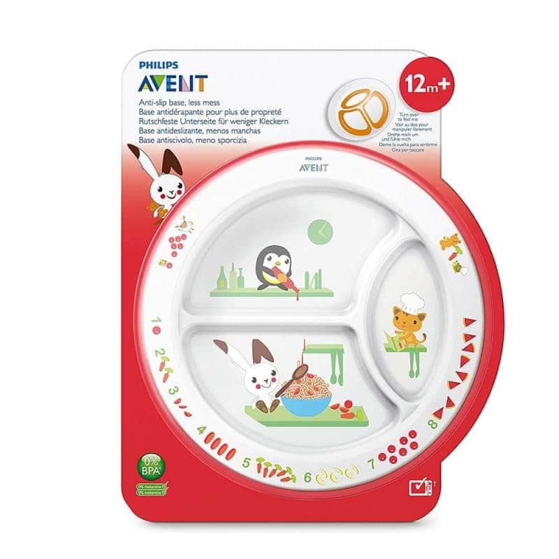 Детская порционная тарелка, Philips AVENT