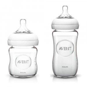 "Стеклянная бутылочка для кормления ""Natural"", Philips Avent"