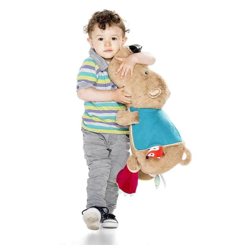 """Большая развивающая игрушка """"Медведь Цезарь"""", Lilliputiens"""