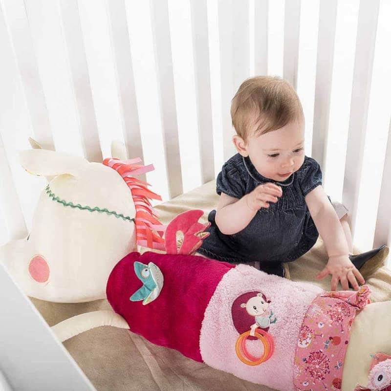 "Развивающая игрушка-валик ""Единорог Луиза"", Lilliputiens"