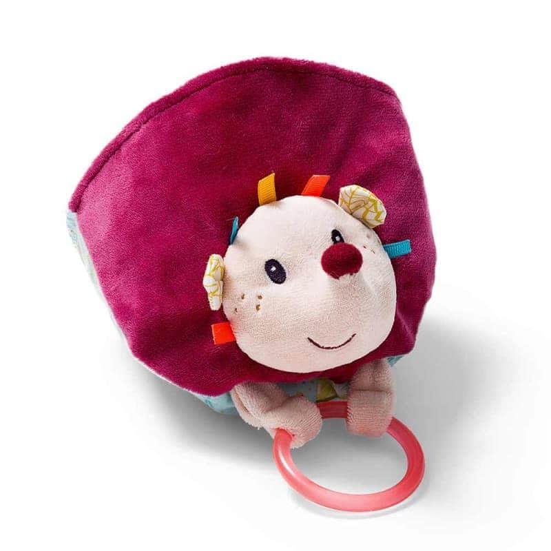 """Двусторонняя игрушка-прорезыватель """"Лисичка Алиса"""", Lilliputiens"""