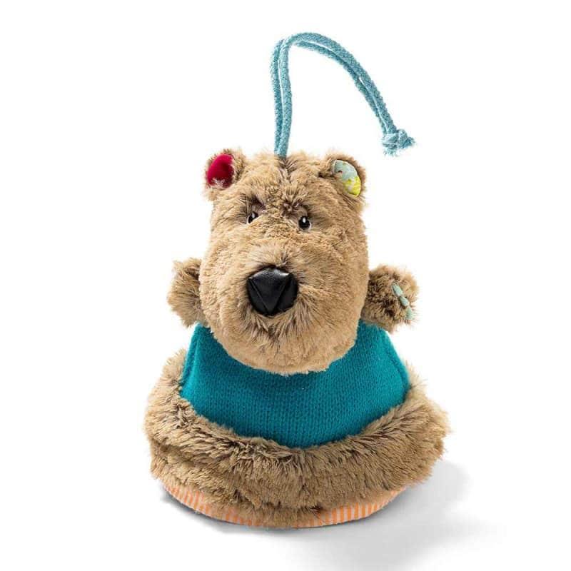 """Двусторонняя игрушка-прорезыватель """"Медведь Цезарь"""", Lilliputiens"""