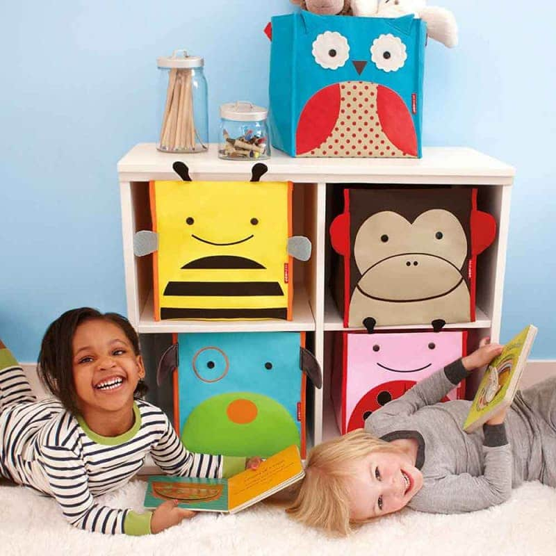 """Коробка для хранения игрушек и вещей Large """"Мартышка"""", Skip Hop"""