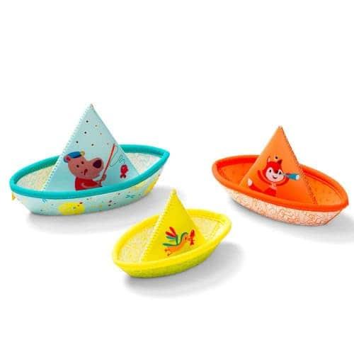 """Игрушка для ванной """"3 маленьких кораблика"""", Lilliputiens"""