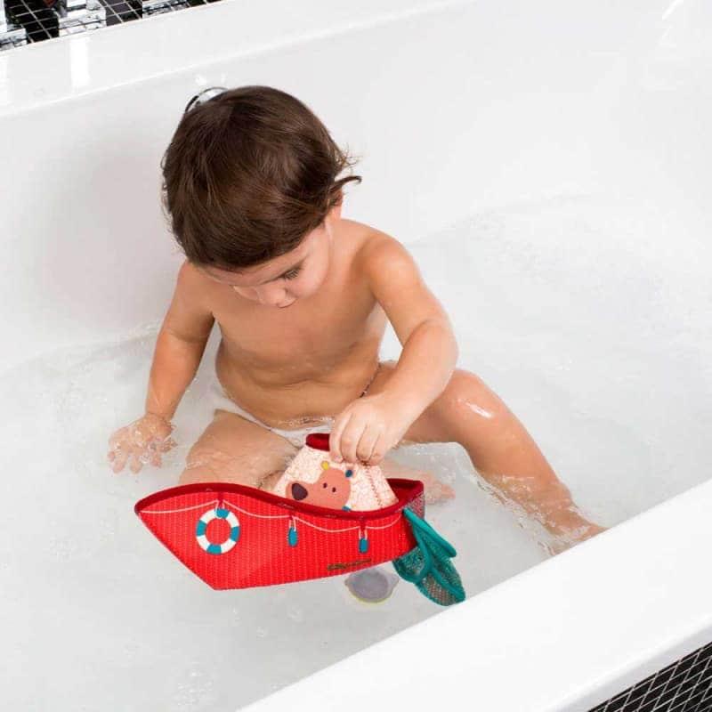 """Игрушка для ванной """"Рыбацкая лодка"""", Lilliputiens"""