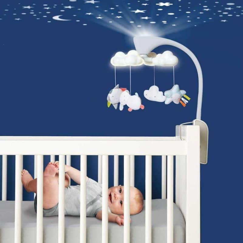 """Многофункциональный мобиль на кроватку """"Облака"""", Skip Hop"""