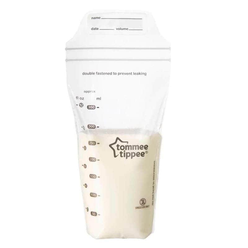 Пакеты для хранения грудного молока, Tommee Tippee