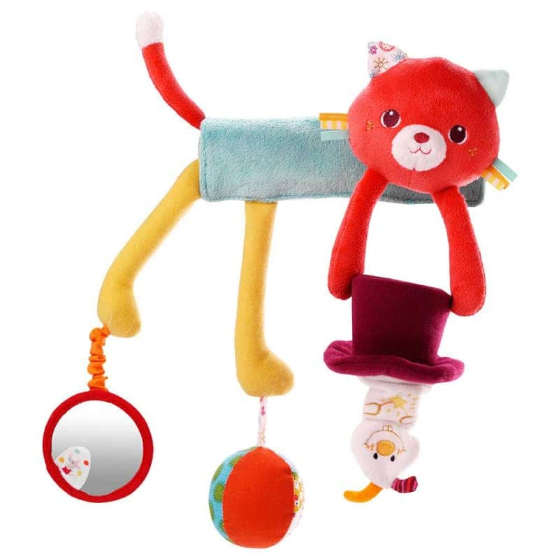 "Игрушка-подвеска ""Кошечка Колетт"", Lilliputiens"
