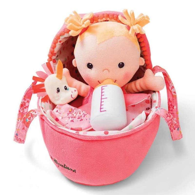 Кукла с единорогом Луизой, Lilliputiens
