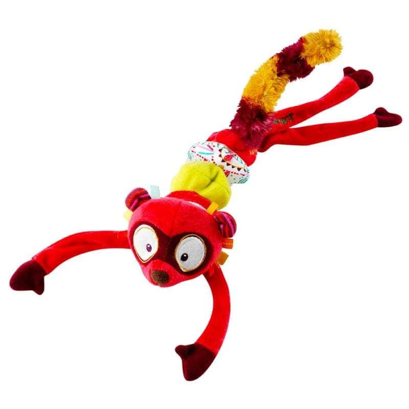 """Маленькая танцующая игрушка """"Лемур Джордж"""", Lilliputiens"""