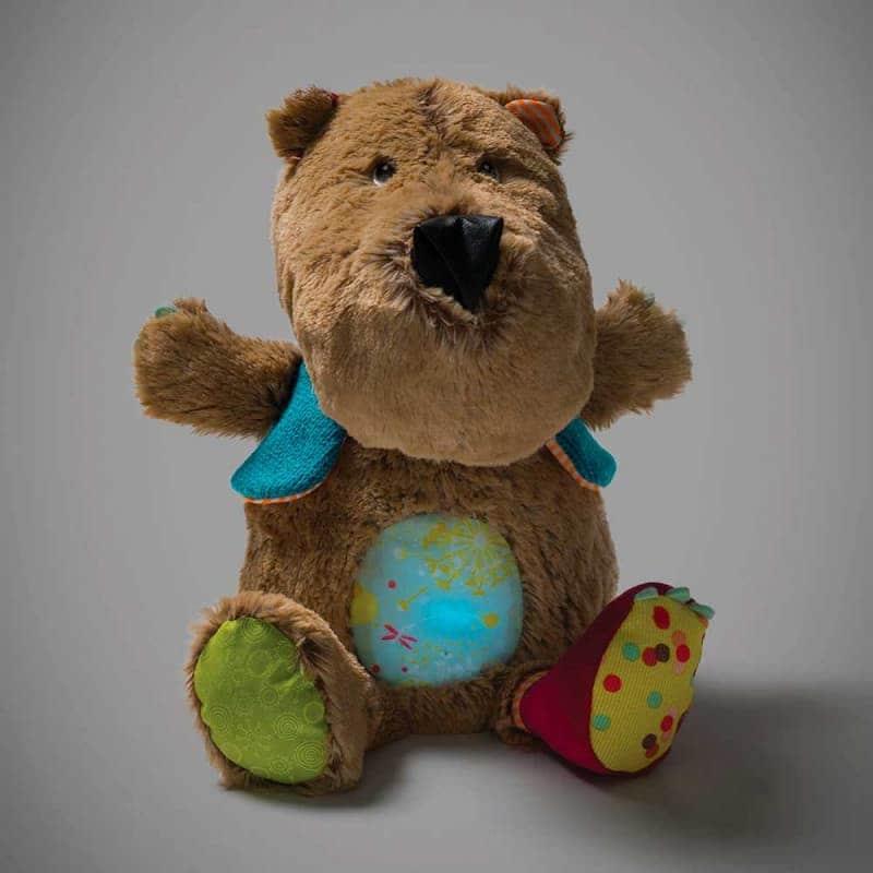"""Музыкальный ночник """"Медведь Цезарь"""", Lilliputiens"""