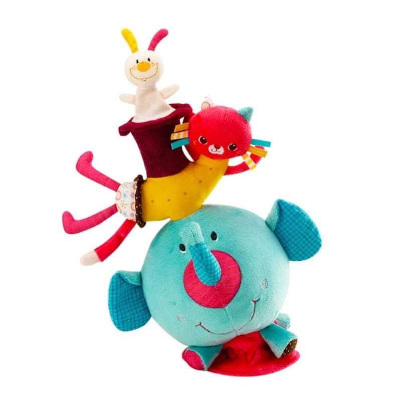"""Мягкая игрушка """"Балансирующий слоник Альберт"""", Lilliputiens"""