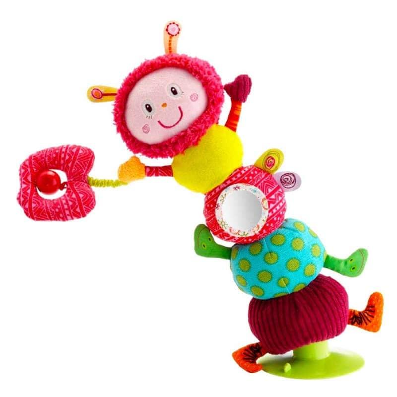 """Мягкая игрушка """"Балансирующая гусеница Джульетта"""", Lilliputiens"""