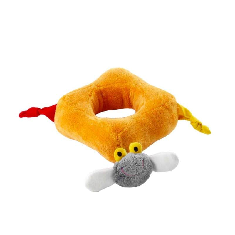 "Мягкая игрушка-пирамида ""Коровка Вики"", Lilliputiens"