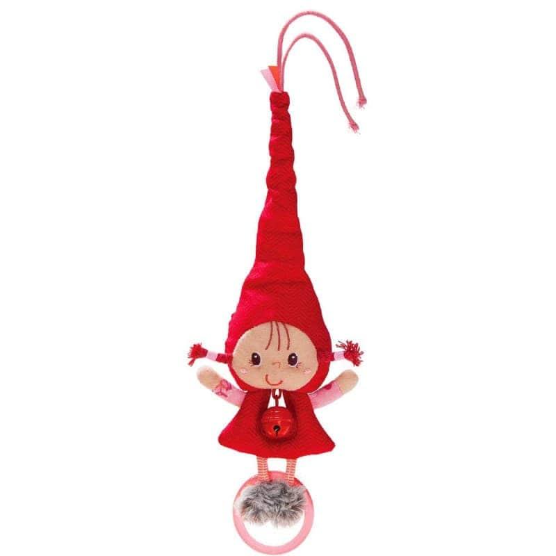 """Игрушка-подвеска с колокольчиком """"Красная шапочка"""", Lilliputiens"""