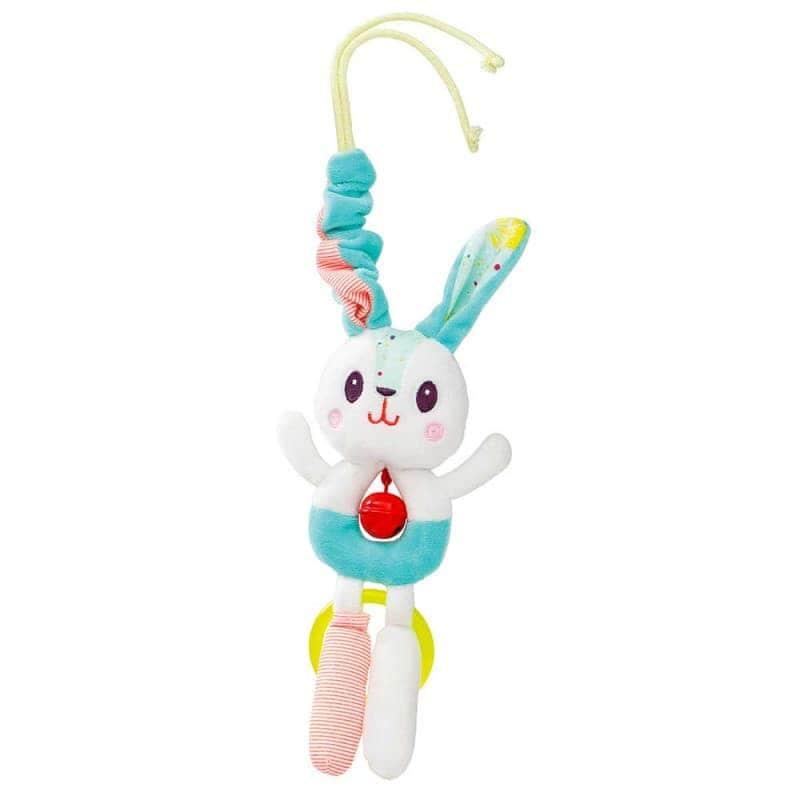 """Игрушка-подвеска с колокольчиком """"Кролик Селестин"""", Lilliputiens"""