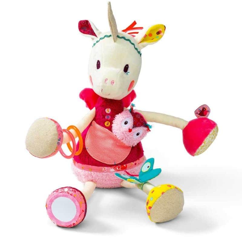 "Развивающая игрушка ""Единорог Луиза"", Lilliputiens"