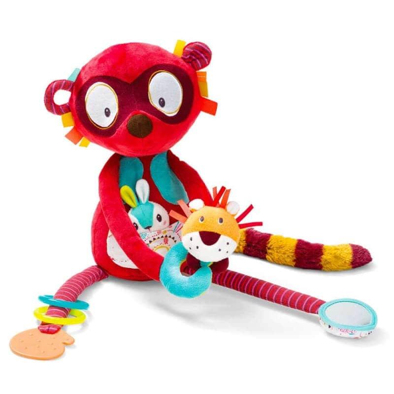 "Развивающая игрушка ""Лемур Джордж"", Lilliputiens"