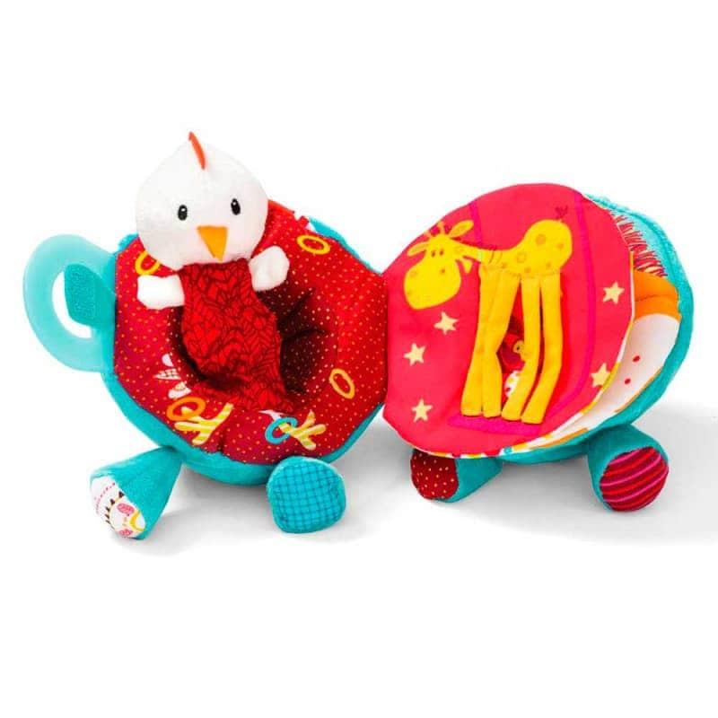 """Развивающая игрушка-книга """"Слоник Альберт"""", Lilliputiens"""