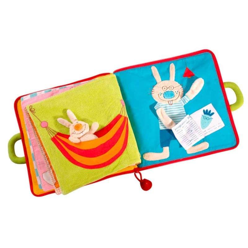 """Развивающая книга """"Доброе утро, маленький кролик"""", Lilliputiens"""