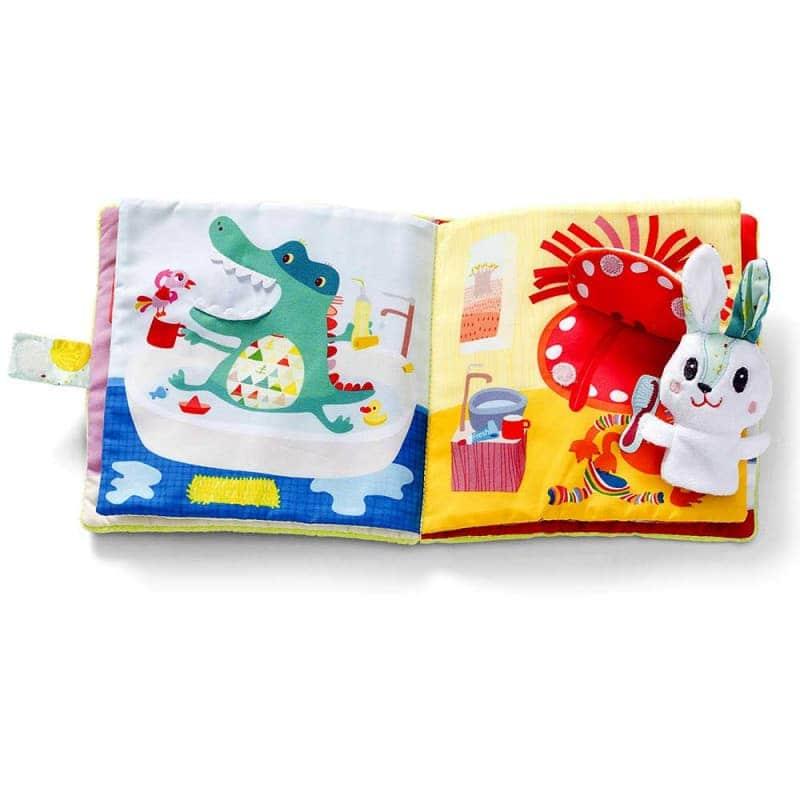 """Развивающая книга """"Кролик - зубной врач"""", Lilliputiens"""
