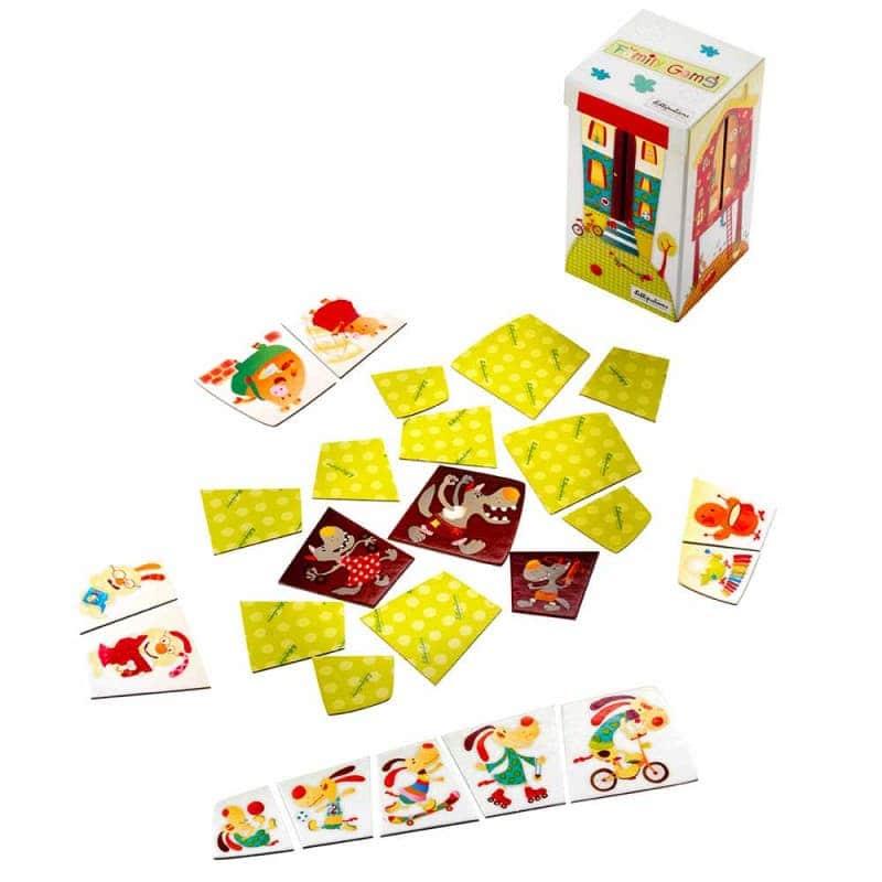 Семейная настольная игра, Lilliputiens