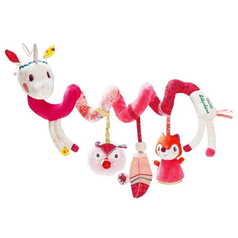 """Спиральная игрушка-подвеска """"Единорог Луиза"""", Lilliputiens"""