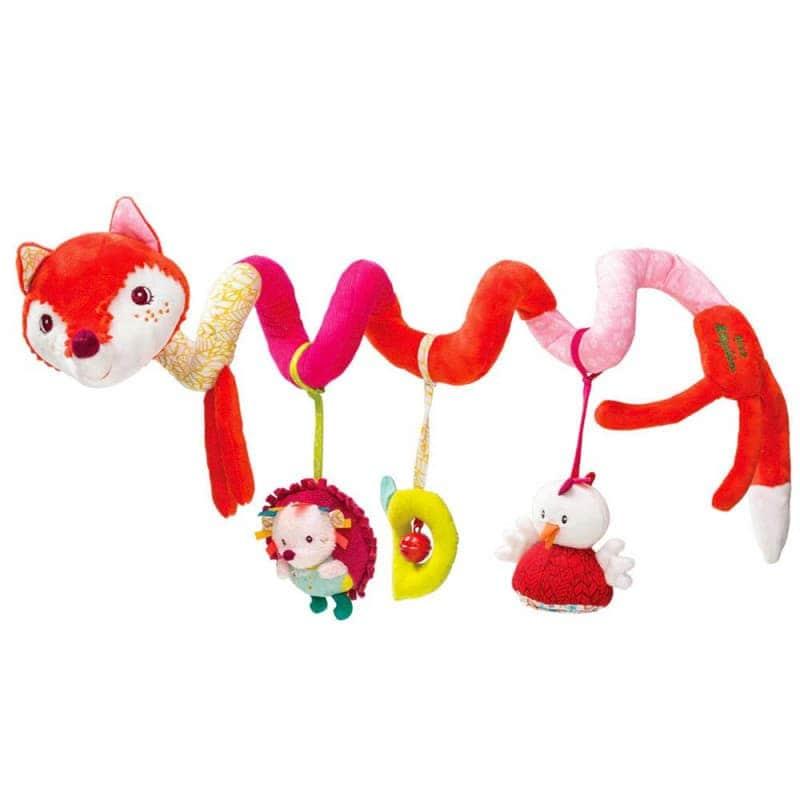 """Спиральная игрушка-подвеска """"Лисичка Алиса"""", Lilliputiens"""
