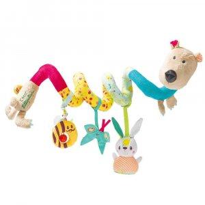 """Спиральная игрушка-подвеска """"Медведь Цезарь"""", Lilliputiens"""