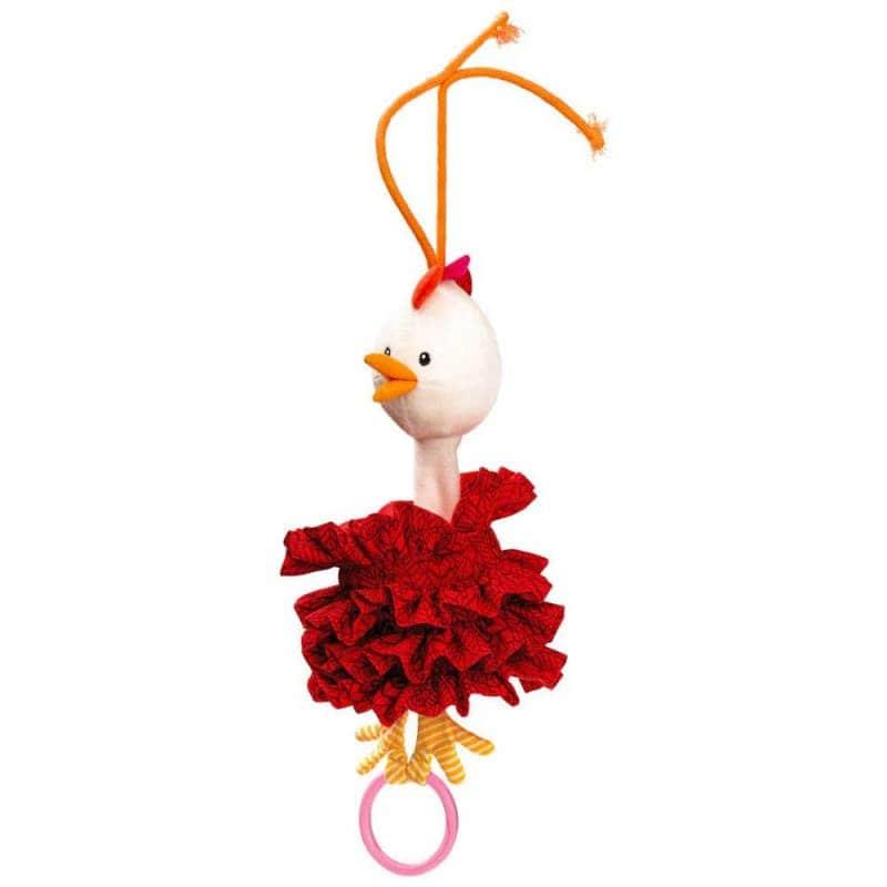 """Танцующая игрушка с кольцом """"Курочка Офелия"""", Lilliputiens"""