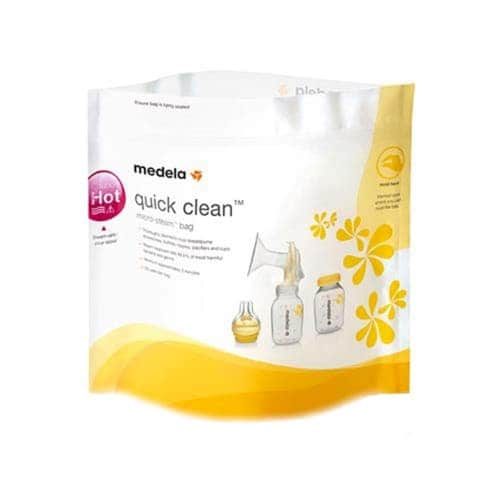 "Пакеты для стерилизации в СВЧ ""Quick Clean"", Medela"