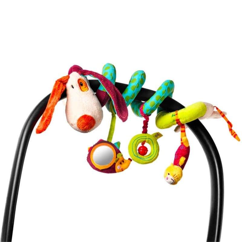 """Спиральная игрушка-подвеска """"Собачка Джеф"""", Lilliputiens"""
