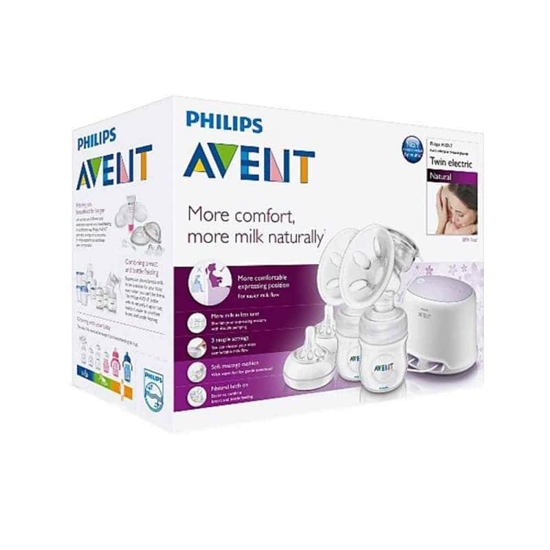 """Двойной электронный молокоотсос """"Comfort"""", Philips Avent"""