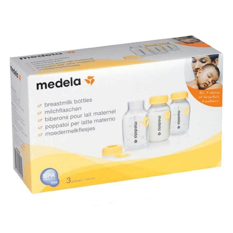 Бутылочки для сбора и хранения грудного молока, Medela