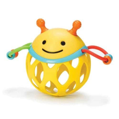 """Развивающий шар-погремушка """"Пчелка"""", Skip Hop"""