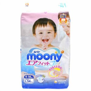 Подгузники Moony L (9-14 кг), RS54