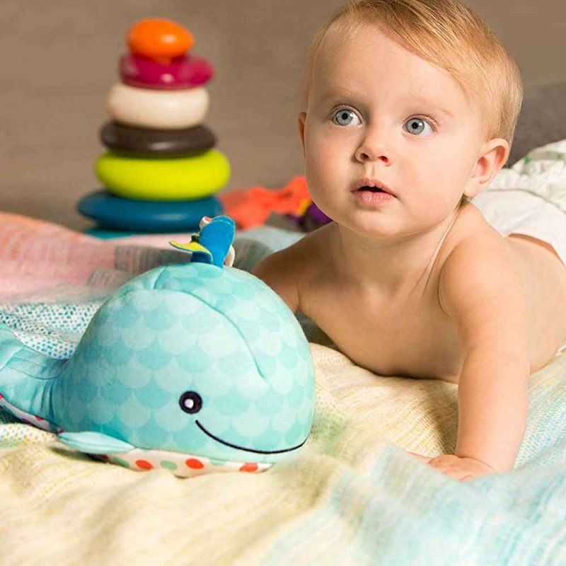 "Мягкая игрушка-ночник ""Китенок Шшш"", Battat"