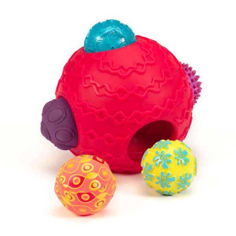 """Развивающая игрушка """"Супермяч с прыгунчиками"""", Battat"""