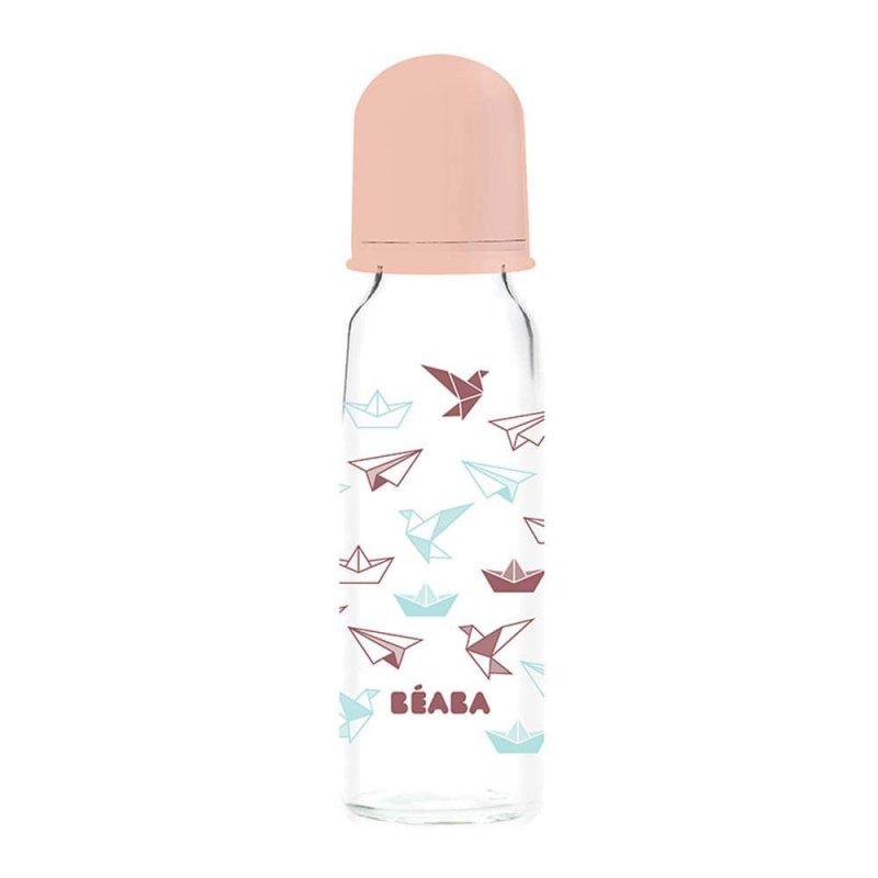 "Стеклянная бутылочка ""Origami"", Beaba"
