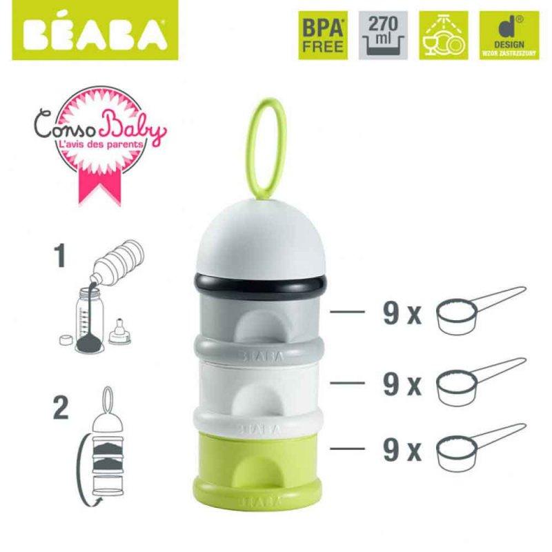 Контейнер-дозатор для сыпучих смесей, Beaba