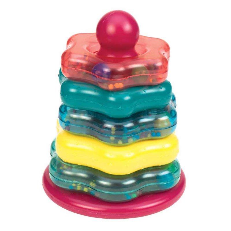 """Развивающая игрушка """"Цветная пирамидка"""", Battat"""