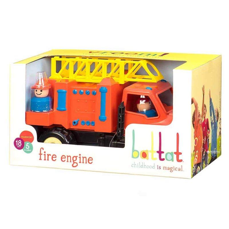 """Игрушка """"Пожарная машина"""" с фигуркой водителя, Battat"""