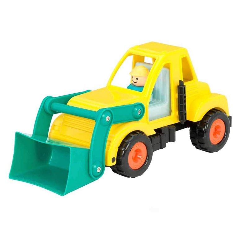 """Игрушка """"Экскаватор"""" с фигуркой водителя, Battat"""