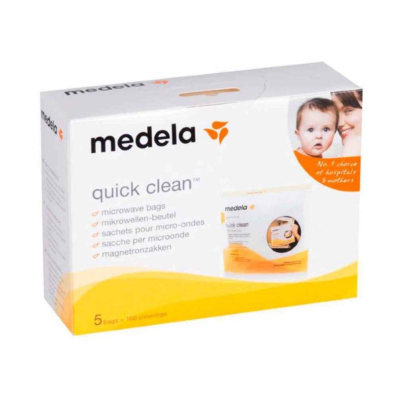 """Пакет для стерилизации в СВЧ """"Quick Clean"""", Medela"""