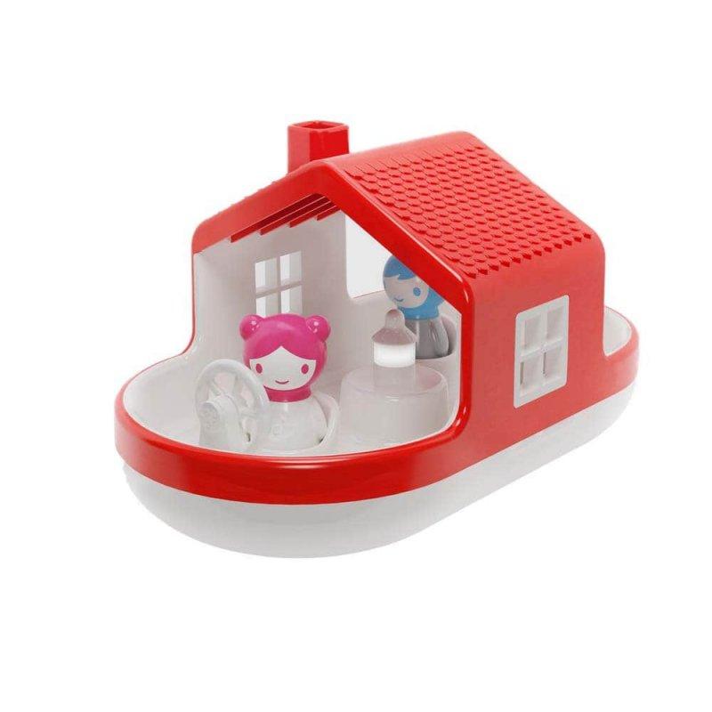 """Игрушка-сортер для игры в воде """"Плавающий дом"""", KID O"""